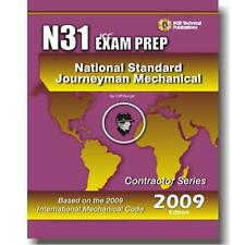 N31 National Standard Journeyman Mechanical Study Questions Workbook ICC Exam