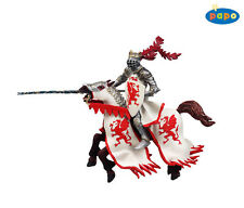 Papo 39386 Papo 39388 Dragon King With Horse Red Knight and Castles