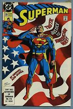 Superman #53 1991 Clark Kent reveals ID to Lois Jerry Ordway DC Comics c
