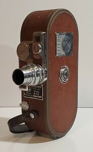 Vintage Keystone A-12 16mm Movie Camera in Excellent Condition Works