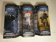 """SEALED Star Wars Miniatures - """"Imperial Entanglements"""" Booster Pack (Set of 3)"""
