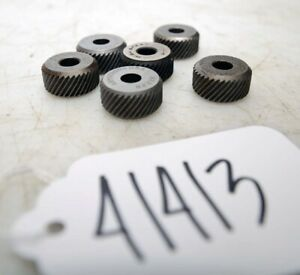 6 Armstrong Knurling Wheels (Inv.41413)