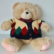 """50cm/20"""" tall Forever Friends Bear plush/soft toy in jumper - Andrew Brownbword"""