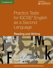 Practice Tests for Igcse English as a Second Language: Reading and Writing Book