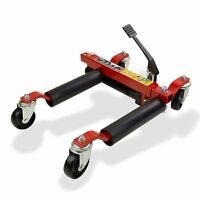 HYDRAULIC WHEEL DOLLY SKATES CAR POSITIONING JACK TIRE SKATES 30CM 680KG