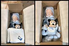 """Ashton Drake Galleries """"Baby Mickey"""" Porcelain Doll (New in box, Outer & inner)"""