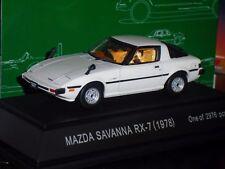MAZDA SAVANNA RX7 1978 WHITE EBBRO 43150 1:43