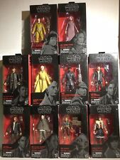 Star Wars The Black Series 6-inch Lot Of 10 Action Figures