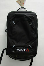Men's Reebok Crossfit Backpack, New Black Yellow Work Out Training Backpack