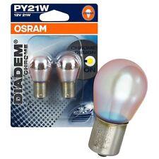 Bau15s Vision Chrom a Silver PY21W Heck Blinkerbirnen Blinkerlampen C6