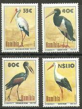 Namibia - Vögel der Etoschapfanne Satz postfrisch 1994 Mi. 776-779