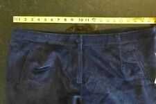 NWT Demin & co Womans royal blue stretch corduroy- 22W excellent - MM