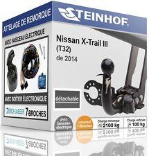 ATTELAGE automatique NISSAN X-TRAIL III T32 de 2014+FAISC.UNIV. 7broches KIT
