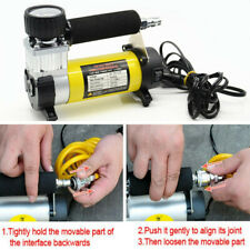 Car Wheel Tire Tyre Inflator Pump Air Compressor Heavy Duty 12V 150 PSI Electric