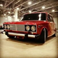RC Body Shell 1:10 scale model analog of Lada 2106