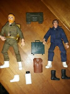 Action jackson mego Lot Of 2 With Accesorries