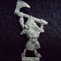 1993 Chaos Beastman Champion 2 Command Citadel Warhammer Beastmen Beasts Broo GW
