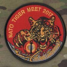 NTM NATO TIGER MEET 2017 B.A.N. Landivisiau Air Base Insignia νeΙ©®⚙ NTM PATCH