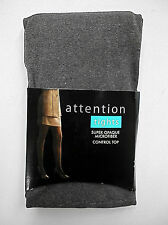 TIGHTS-Women's Attention 1 Pair Control Top Opaque Tights- U-PICK- Color -Size