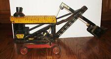1920's Keystone Steam Shovel Riding Toy Pressed Steel (like the Buddy L Shovel)