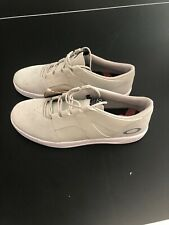 Oakley Mens Size 11 Casual Canvas Suede Leather Skate Shoes Grey White New