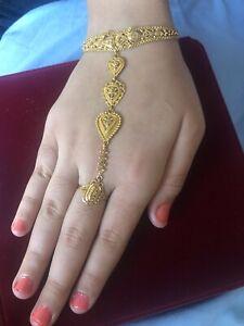 22k Solid Gold Woman Bracelet