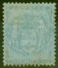 More details for jamaica 1857 1 1/2d blue-blue sgf4 ave mtd mint
