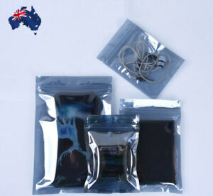 ESD Anti Static Protection Shielding Bag Translucent Zip Lock Resealable HDD GPU