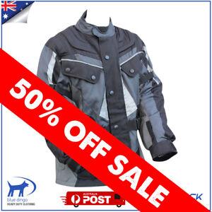Mens Motorcycle Jacket Winter Textile Waterproof Windproof Scooter ATV Motorbike