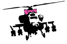 BANKSY APACHE STENCIL REUSABLE FROM A4 180 mc