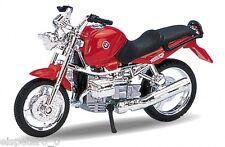BMW R1100 R rot,Welly Motorrad Modell 1:18,Neu,OVP