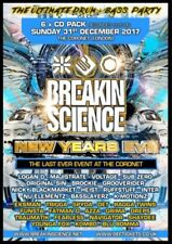 Breakin Science New Year's Eve 2017- Drum & Bass CD Pack SALE PRICE