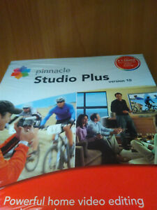 Brand new pinnacle Studio Plus version 10 (Unopend/sealed)