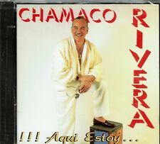 Chamaco Rivera  Aqui Estoy   BRAND  NEW SEALED CD