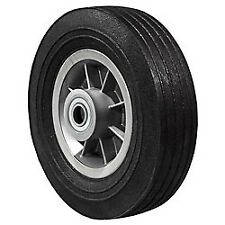"FLAT FREE Hand Truck Wheel 8"" x 2.5"" - 2.25"" Offset Hub - 3/4"" Bore - 450 lb"