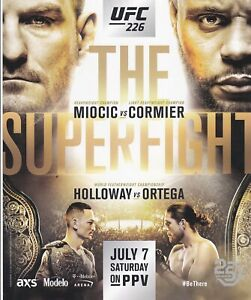 UFC 226 MMA Cormier vs. Miocic 8.5x11 poster photo