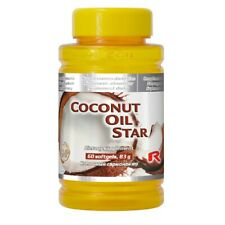 Coconut Oil Star 60 kaps. - Starlife - przeciw grzybom i drożdżakom