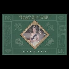 Gibraltar 2012 - Diamond Jubilee Queen Elizabeth II Royalty - MNH