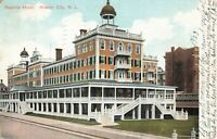 Postcard Seaside Hotel Atlantic City New Jersey
