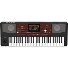 Korg Pa700 Professional Arranger 61-Key Workstation Keyboard Synthesizer Black