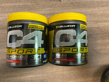 Cellucor C4 Sport Pre-Workout fruit punch, 60 Servings Total 01/2022 (2 Pack)