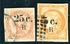 REUNION 1885 Yvert 4,6 gestempelt TADELLOS 110€(D8840
