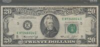 1974 (E) $20 Twenty Dollar Bill Federal Reserve Note Richmond Vintage Currency