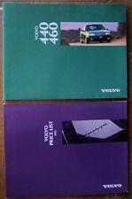 VOLVO 440 460 orig 1995 UK Mkt Prestige Sales Brochure + Price List