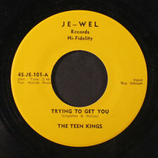 TEEN KINGS: Ooby Dooby / Trying To Get You 45 (repro, close to M-, lbls reverse