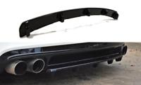 CENTRAL REAR SPLITTER WITH VERTICAL BARS AUDI TT MK2 RS (2009-2014)