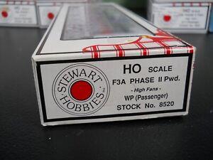HO STEWART KATO POWERED F3A PHASE II LOCOMOTIVE WP PASSENGER NIB 8520