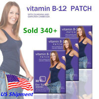 30DAY Vitamin B12 Patch Guarana Garcinia cambogia Weight Loss Energy Patches