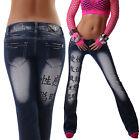 Crazy Age Jeans bootcut 34 36 38 40 42 femmes de taille basse pantalon noir
