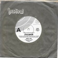 "CAROLE KING - JAZZMAN - 7"" 45 VINYL RECORD - 1974"